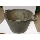 Galvanised large tub/Pot