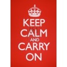 Keep Calm Sign A1 size