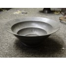 Ribbed Pewter Bowl