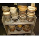 Assorted Small Wooden Bowls
