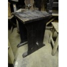 Tall Dark Refectory Table