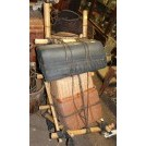 Bamboo back pack with parcels