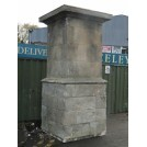 Large Stone Pillar Telephone Box Cover