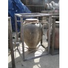 Fibreglass Urn in Wooden Frame