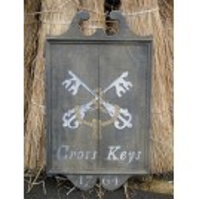 The Cross Keys Pub Sign