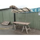 Trestle Market Stall with Roof #2