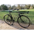 Period Black Bike With Basket