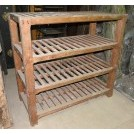 Pine bakers shelf unit