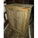 Light wood 2-door cupboard