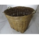 2-handle woven reed basket