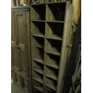 Wooden Shelved Unit