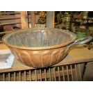 Large Copper Bowl with Handles