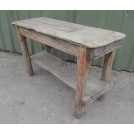 Rustic workbench table