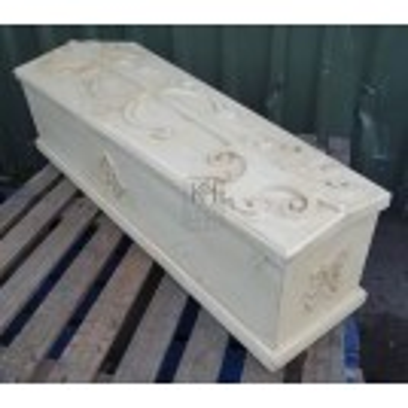 Child size ornate coffin