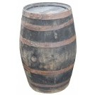 3-5ft Large Round Barrel