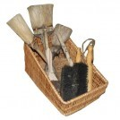Basket with 9 brushes Display
