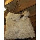 Large Sheep Skin Bag