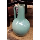 Blue china jug