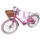 80s pink Girls bicycle