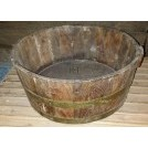 Small wood tub