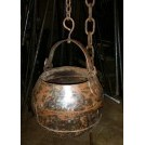 Small hanging cooking pot