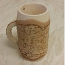Wood bark tankard