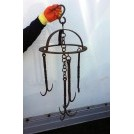 Iron ring with hooks