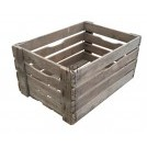 Deep wood crate