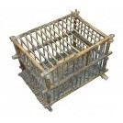 Cane bird cage