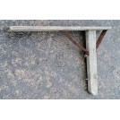 Large wood wall bracket