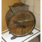 Wood period butter churn