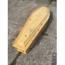 Light Wood Coffin