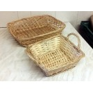 Assorted small wicker baskets