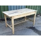 Light wood rough table
