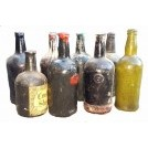 Assorted fibreglass bottles