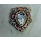 Broach with diamond stone