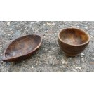 Small wood bowls