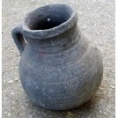 Grey ceramic jug