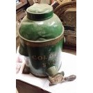Large green Golden Syrup tin