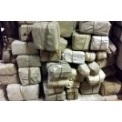 Assorted small linen bales