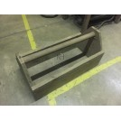 Straight Handle Wood Tool Box