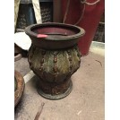 Shaped Decorative Wooden Urn