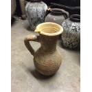 Cream Aged Ceramic Jug