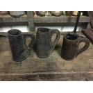 Shaped Leather Tankard