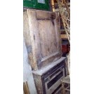 Square wood cupboard
