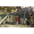Black iron seed sowing machine