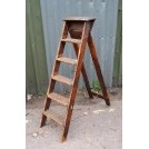 Small wood step ladder