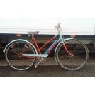 1960s bicycle - Ladies blue & red