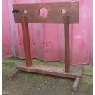 Simple wood pillory