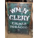 WMH Clery cigars tobacco sign
